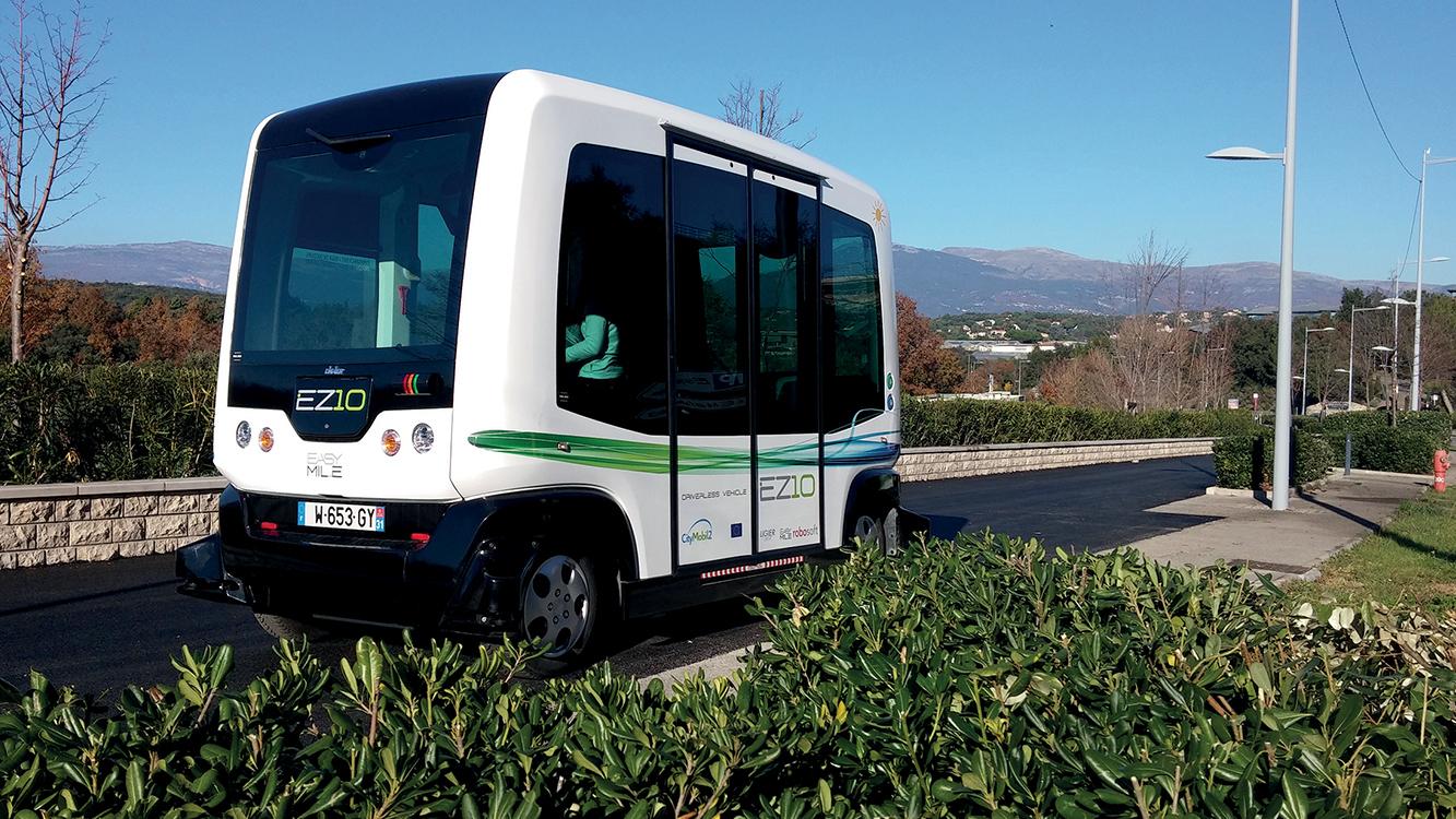 Débat citoyen sur les véhicules autonomes à Aix-la-Chapelle