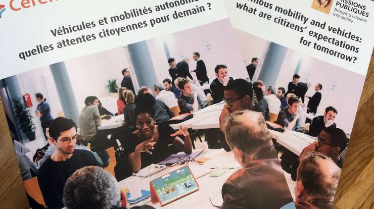 Véhicules et mobilités autonomes, quelles attentes citoyennes pour demain ?